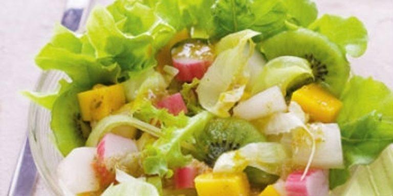Como fazer Salada Tropical