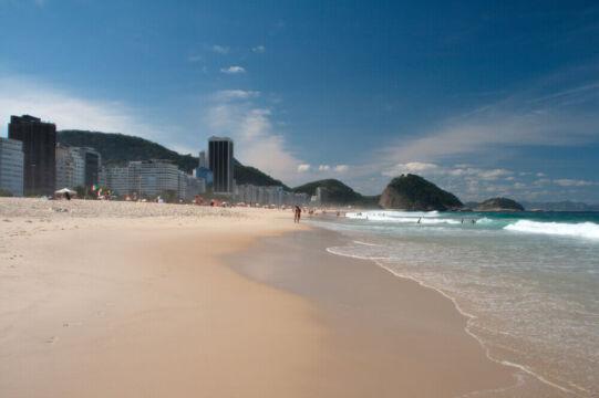 copacabana uma das melhores praias do rio