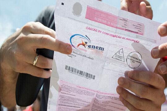 Cartão de confirmação do Enem 2020, saiba como consultar sua inscrição do Enem.